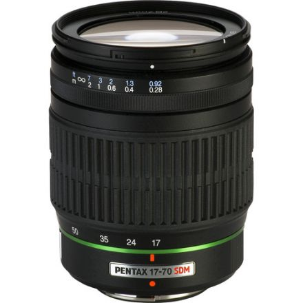 Pentax SMCP-DA 17-70mm f/4 AL (IF) SDM Lens