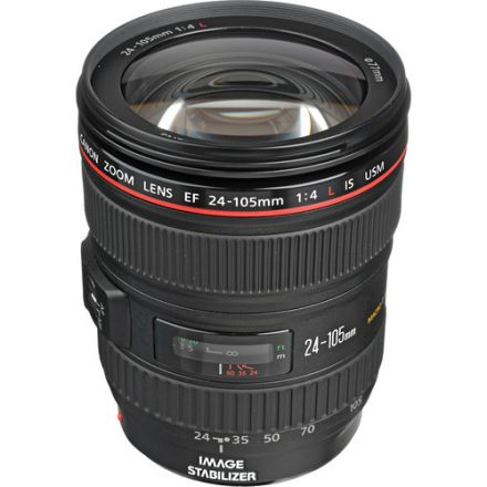 Canon EF 24-105mm f/4L IS USM Lens (Used)