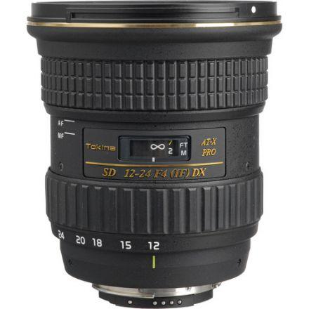 Tokina 12-24mm f/4 AT-X 124AF Pro DX II Lens for Canon EF