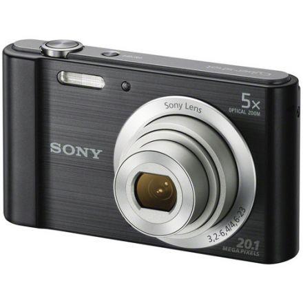 "Sony W810 Compact Φωτογραφική Μηχανή 20.1MP Οπτικού Ζουμ 6x με Οθόνη 2.7"" και Ανάλυση Video 1280 x 720 pixels (Black)"