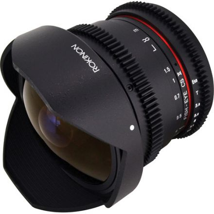 Samyang 8mm T3.8 Cine UMC Fisheye CS II Lens for Nikon F Mount