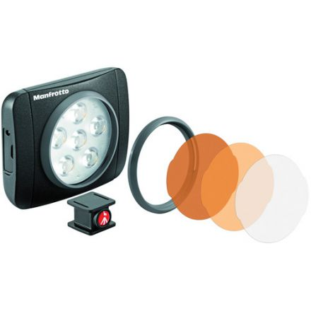 MANFROTTO LUMIMUSE 6 LED LIGHT (MLUMIEART-BK)