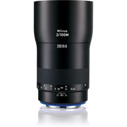 ZEISS Milvus 100mm f/2M ZE Macro Lens for Canon EF