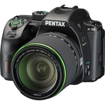 Pentax K-70 Kit SMC DA 18-135mm AL [IF] DC WR