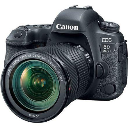 Canon EOS 6D Mark II Kit EF 24-105mm IS STM (Με Trade-in μέχρι και 200€ έκπτωση)