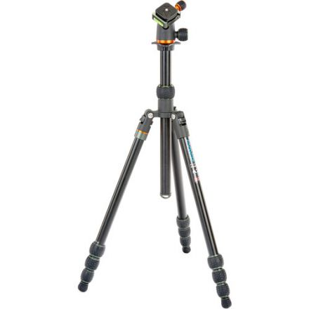 3 Legged Thing Travis Aluminum Travel with AirHed Neo Ball Head (Black)