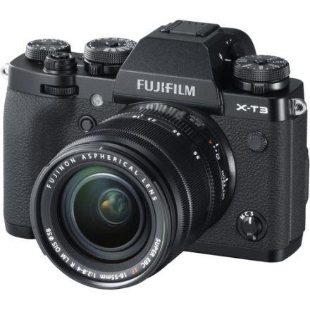 Fujifilm X-T3 Kit Fujifilm XF 18-55mm R LM OIS (Black)