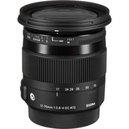 Sigma 17-70mm f/2.8-4 DC Macro OS HSM for Canon (Used)