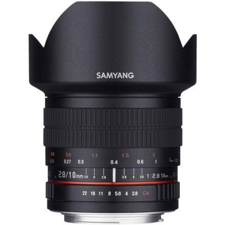 Samyang 10mm f/2.8 ED AS NCS CS Lens for Nikon F Mount