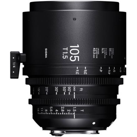 Sigma 105mm T1.5 FF High-Speed Lens Canon EF Mount (Meters)