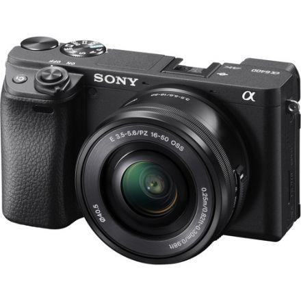 Sony Alpha a6400 Kit E PZ 16-50mm OSS