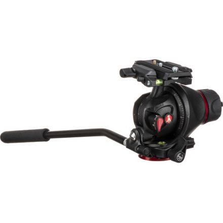 Manfrotto MH055M8-Q5 Photo-Movie Tripod Head with Q5 QR Plate
