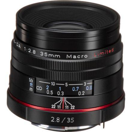 Pentax HD Pentax DA 35mm f/2.8 Macro Limited Lens (Black)