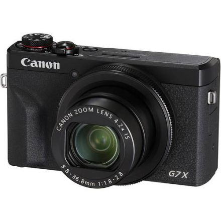 Canon PowerShot G7 X Mark III (Black) (με Cashback 50€)