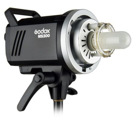 Godox MS300 – Manual Studio Flash 300Ws with built-in X1 receiver