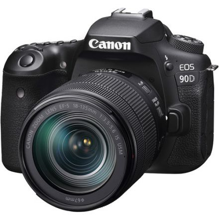 Canon EOS 90D Kit EF-S 18-135mm IS USM