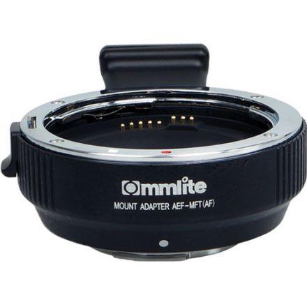 Commlite AEF-MFT – Αντάπτορας για φακούς Canon EF/EF-S σε M4/3 Mount