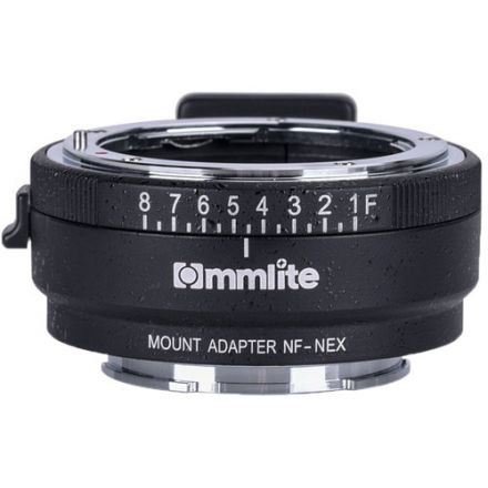 Commlite Lens Mount Adapter for Nikon F-Mount, G-Type Lens to Sony E Camera