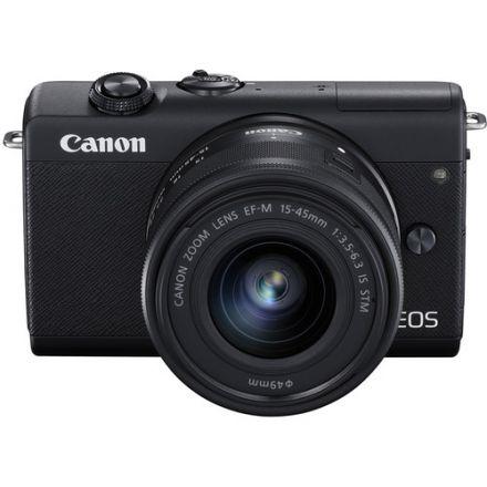 Canon EOS M200 Kit EF-M 15-45mm IS STM (Black)