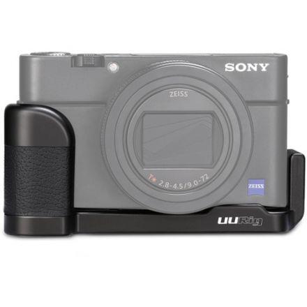 UURig R017 Sony RX100 VII Microphone Handle Grip L Type Cold Shoe Bracket