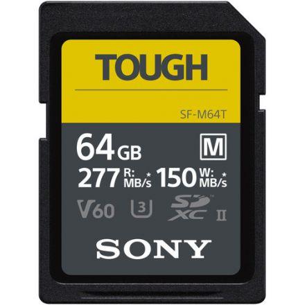 Sony 64GB SF-M Tough Series UHS-II SDXC Memory Card