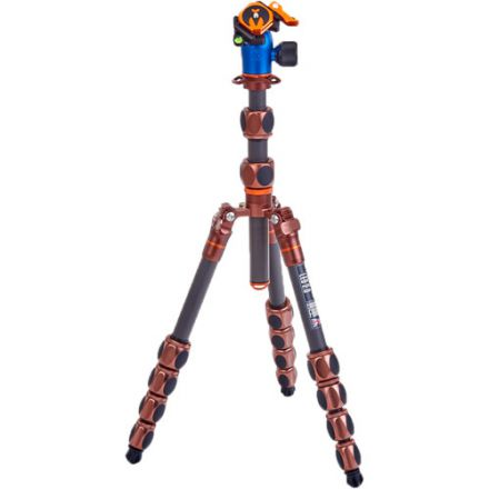 3 Legged Thing Leo 2.0 with AirHed Pro Lever Ball Head (Bronze and Blue)