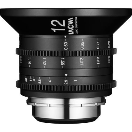Venus Optics Laowa 12mm T2.9 Zero-D Cine Lens for PL Mount
