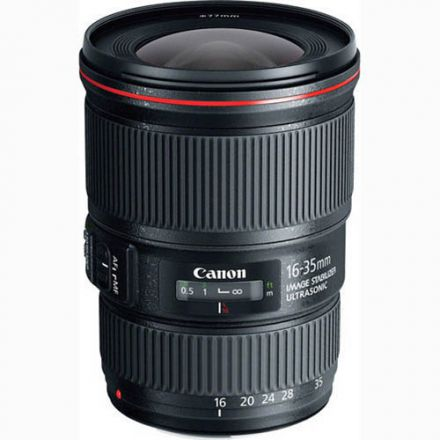 Canon EF 16-35mm f/4L IS USM (Used)