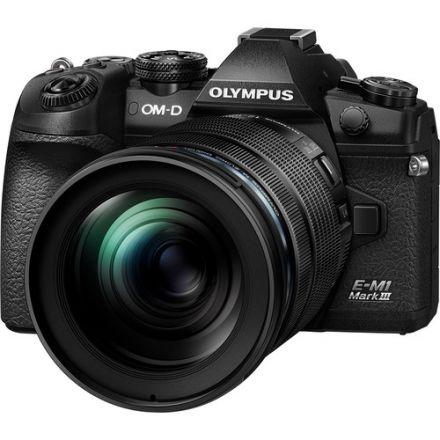 Olympus OM-D E-M1 Mark III Mirrorless Digital Camera & M.Zuiko ED 12-100mm f/4 IS  PRO Kit