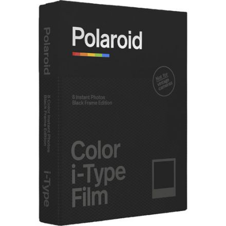 Polaroid Color i-Type Instant Film (Black Frame Edition, 8 Exposures)