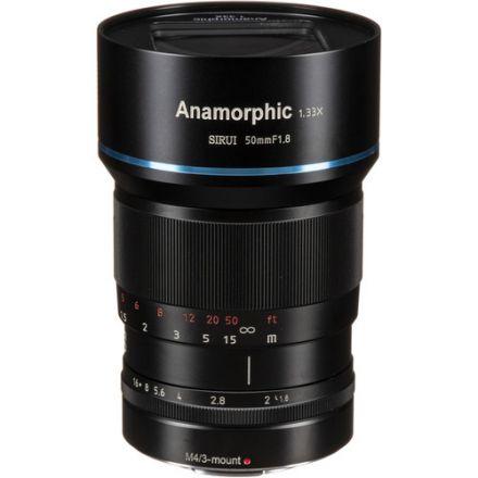 Sirui 50mm f/1.8 Anamorphic 1.33x Lens MFT