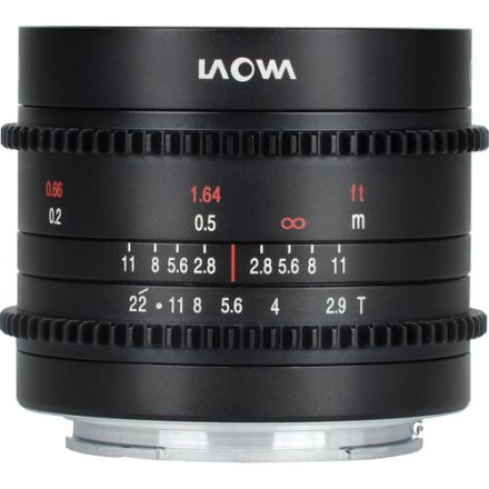 Venus Optics Laowa 9mm T2.9 Zero-D Cine Lens for Sony E