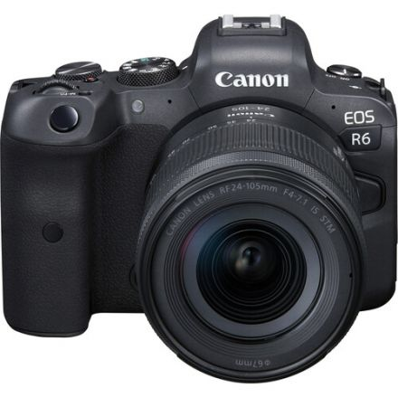 Canon EOS R6 Kit Canon RF 24-105mm f/4-7.1 Lens (Με Trade-in μέχρι και 300€ έκπτωση)