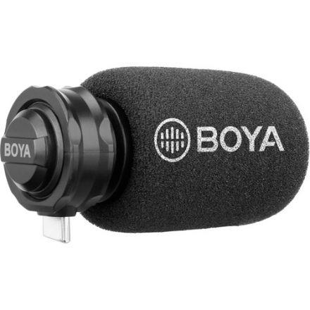 Boya BY-DM100 Στερεοφωνικό μικρόφωνο με επαφή Type-C για συσκευές Android