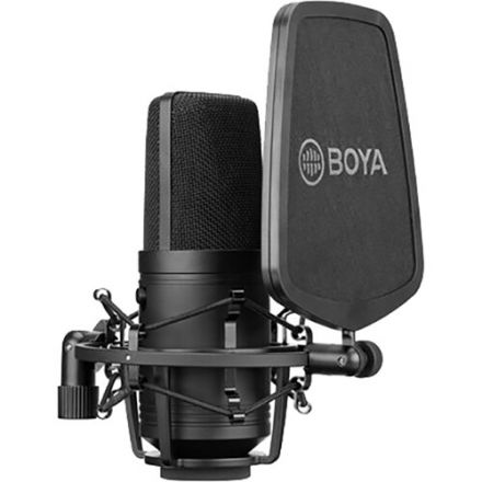Boya BY-M800 Μεγάλου διαφράγματος πυκνωτικό μικρόφωνο