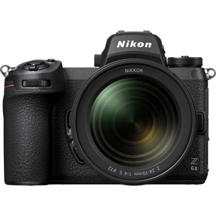 Nikon Z 6II Mirrorless Digital Camera with 24-70mm f/4 Lens (δεν περιλαμβάνει αντάπτορα)