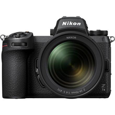 Nikon Z 7 II Mε Nikkor Z 24-70mm f/4 S Και FTZ Mount Adapter Kit  (με Cashback 400€)