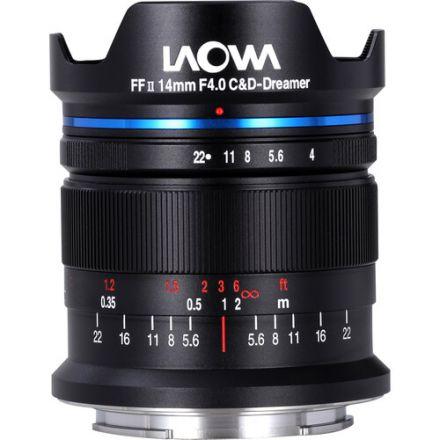 Venus Optics Laowa 14mm f/4 FF RL Lens for Sony E