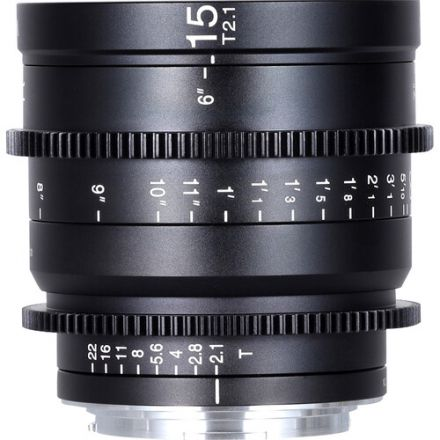 Venus Optics Laowa 15mm T2.1 Zero-D Cine Lens Canon RF, Feet
