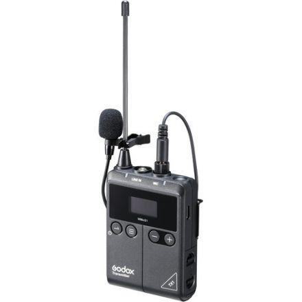 Godox TX1 – Πομπός με μικρόφωνο πέτου για το σύστημα WMicS1