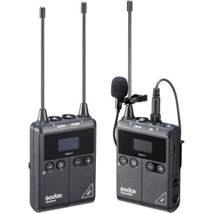 Godox WMicS1-Kit1 – UHF Kit Ασύρματου μικροφώνου πέτου (1Tx + 1Rx)