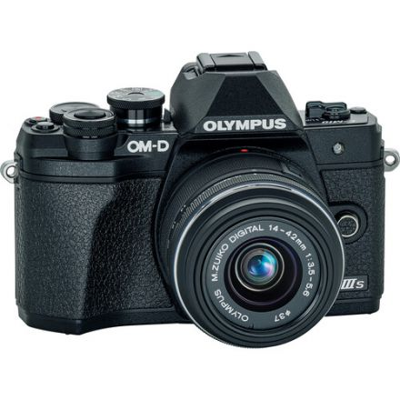 Olympus OM-D E-M10 Mark III Kit Zuiko ED 14-42mm II R (Black)
