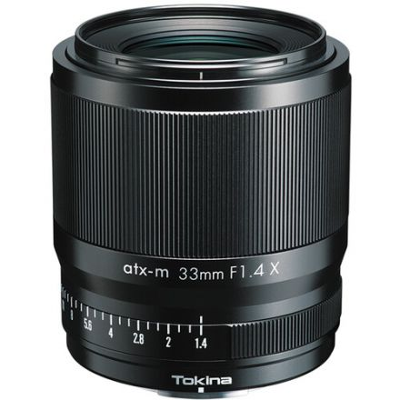 Tokina atx-m 33mm f/1.4 X Lens for FUJIFILM X
