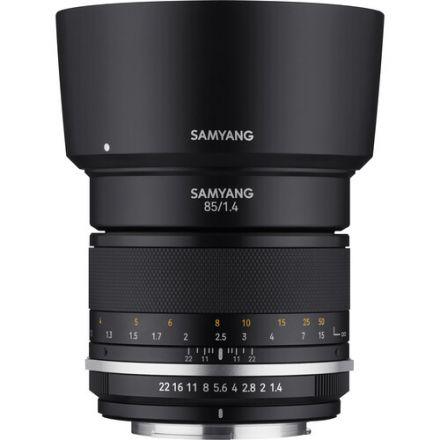 Samyang MF 85mm f/1.4 WS Mk2 Lens for Nikon F