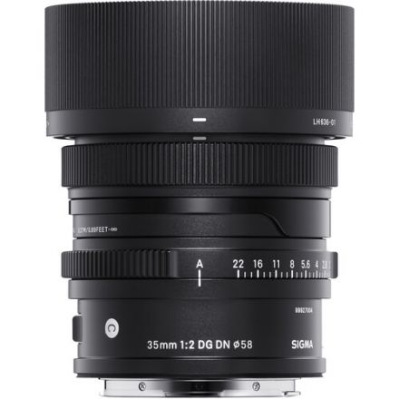 Sigma 35mm f/2 DG DN Contemporary Lens for Leica L
