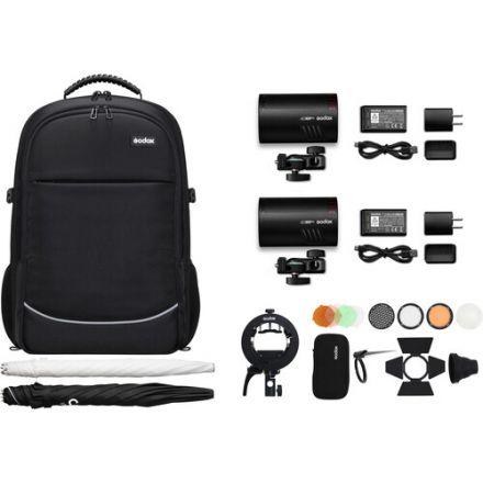 Godox AD100Pro-K2 – AD100Pro TTL Pocket Flash 100ws 2-Light Kit