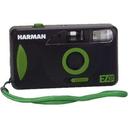 HARMAN technology EZ-35 35mm Film Camera with One Roll of Film