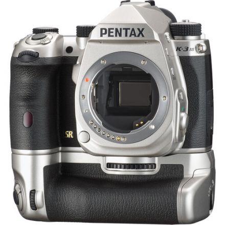 Pentax K-3 Mark III DSLR Camera Premium Kit (Silver)