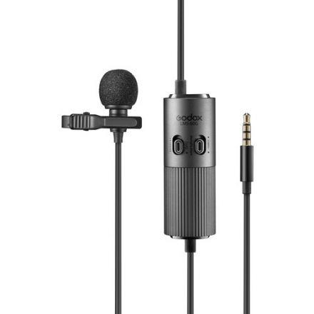 Godox LMS-60G – Omni-directional μικρόφωνο πέτου με ρυθμιζόμενο Gain