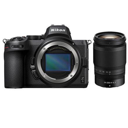 Nikon Z 5 with Z 24-200mm f/4-6.3 Lens kit (με Cashback 300€)
